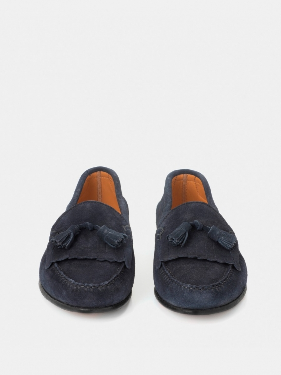 Loafers 2266 navy blue suede