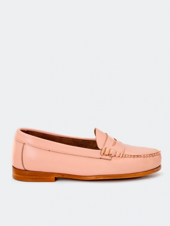 Loafers 4200p star pink color