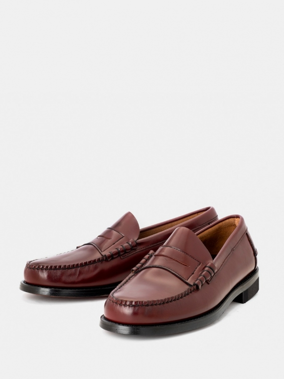 Loafers 1900 corinthian color calf leather