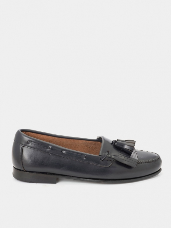 Loafers 226p navy color antik