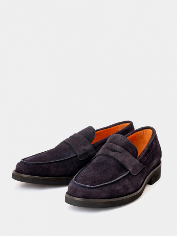 Loafers Florencia navy suede