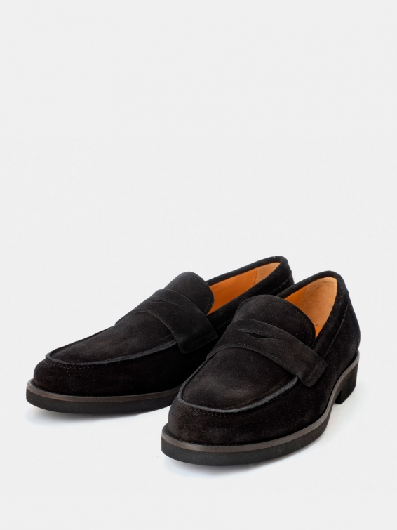 Loafers Florence red color suede