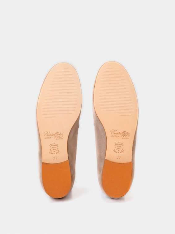 Loafers Cannes colour suede perla