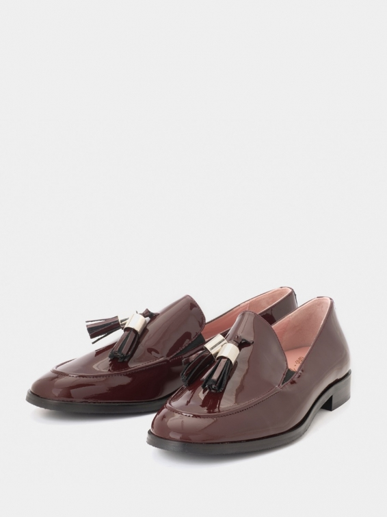 Loafers Messina wine color